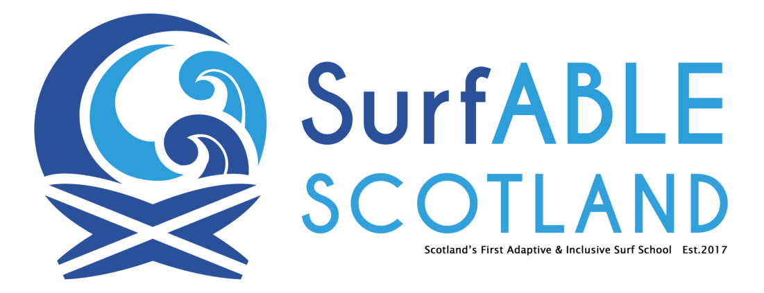 Logo for SurfABLE Scotland