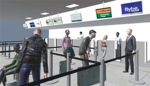 ISenseVR image of Check in Area